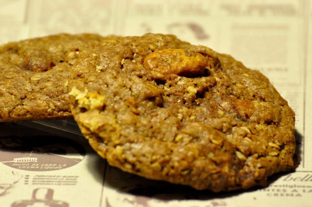 Mandel Cookies, welche in Genuss, vom Gnitzer Seelchen